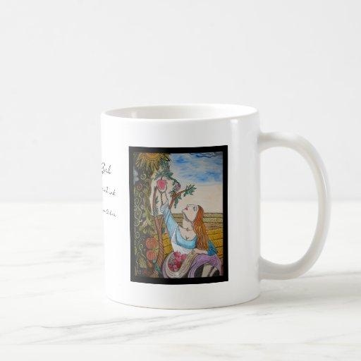 Apple Girl Coffee Mug