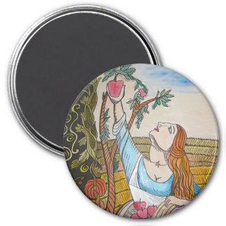 Apple Girl Magnet