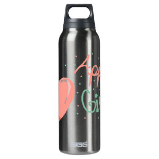 Apple Girl 16 Oz Insulated SIGG Thermos Water Bottle