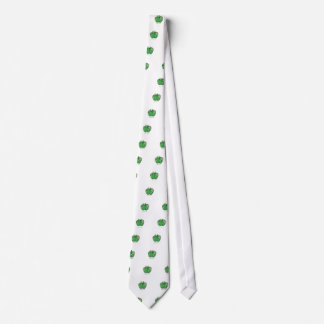 Apple Globe gear Tie