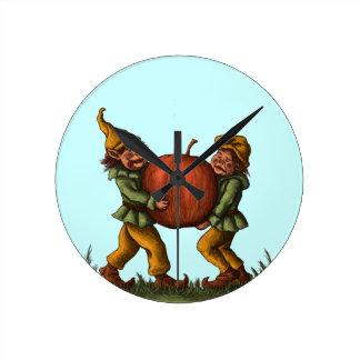 apple gnomes fantasy clock