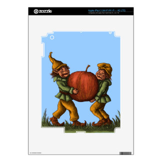 apple gnomes fantasy iPad skin