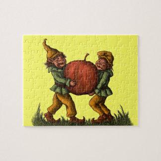 apple gnomes fantasy puzzle