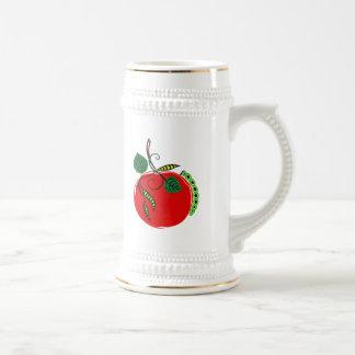 Apple gráfico y Caterpillar Tazas De Café