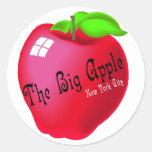 Apple grande etiqueta