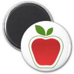 Apple grande imán de nevera