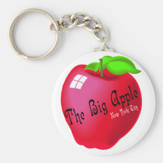 Apple grande llavero redondo tipo pin