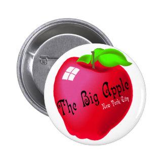 Apple grande pin redondo de 2 pulgadas
