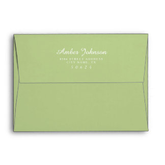 Shop Zazzle's selection of custom envelopes for your special day!