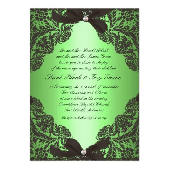 Apple Green Wedding Invitations: Beach Rustic Burlap Lace Wedding Invitation