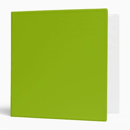 Apple Green Binder