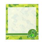 Apple Green Camo; Alligator, Gator Note Pad
