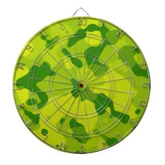 Apple Green Camo; Camouflage Dartboard