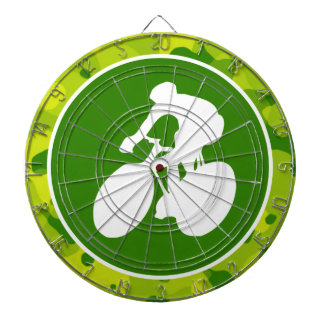 Apple Green Camo; Cycling Dart Boards