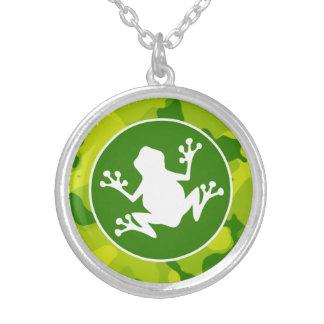 Apple Green Camo; Frog Pendants