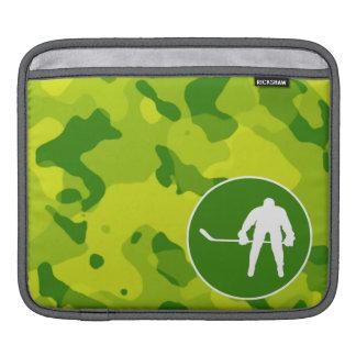 Apple Green Camo Hockey Sleeve For iPads