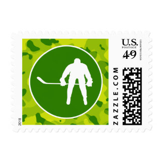 Apple Green Camo; Hockey Stamps