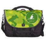 Apple Green Camo; Snow Ski Bag For Laptop