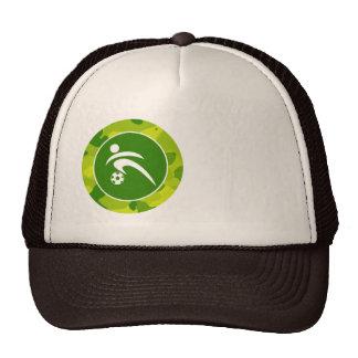 Apple Green Camo; Soccer Trucker Hat
