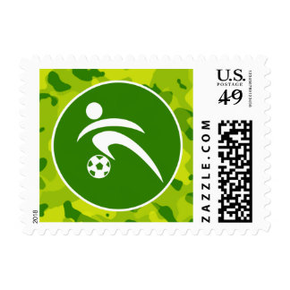 Apple Green Camo; Soccer Stamp