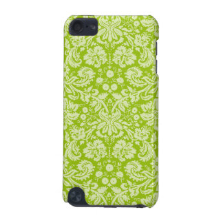 Apple Green Damask Pattern iPod Touch 5G Case