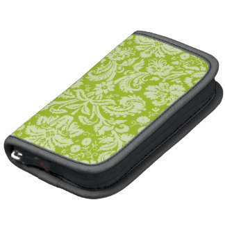 Apple Green Damask Pattern Organizer