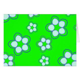 Apple Green Dreaming Lotus Card