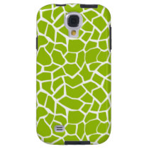 Apple Green Giraffe Animal Print Galaxy S4 Case