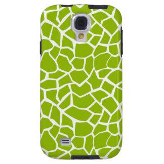 Apple Green Giraffe Animal Print Galaxy S4 Case