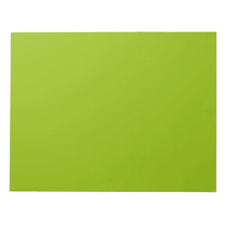 Apple Green Notepad