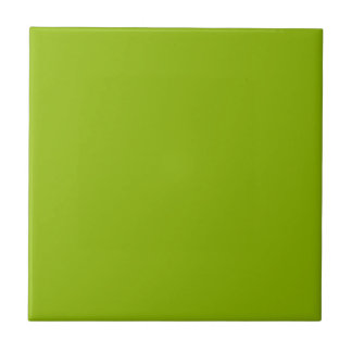 Apple Green Small Square Tile