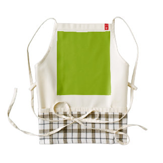 Apple Green Zazzle HEART Apron