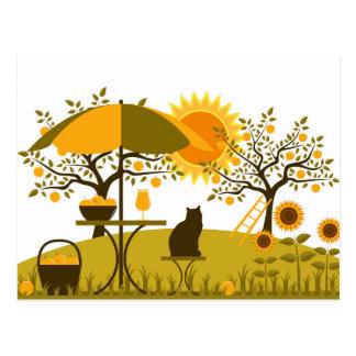 Apple Harvest Postcard
