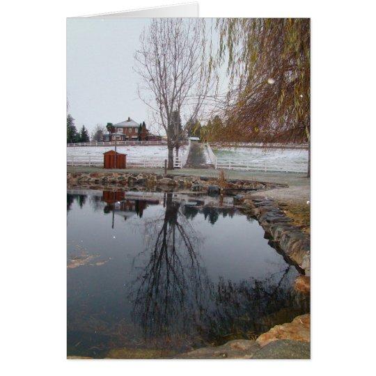 Apple Hill Winter Card