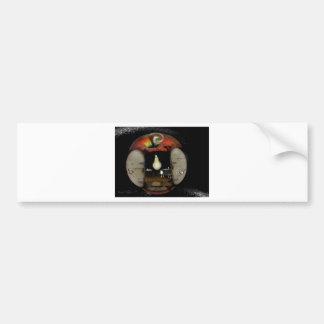 Apple house bumper sticker