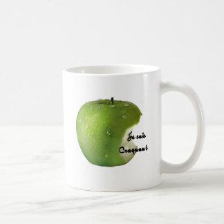 APPLE I AM CRAQUANT.PNG COFFEE MUG