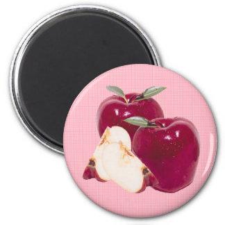 Apple Imán Redondo 5 Cm