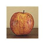 Apple Impresiones En Madera
