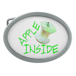 Apple Inside Belt Buckle