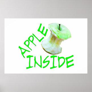 Apple Inside Poster