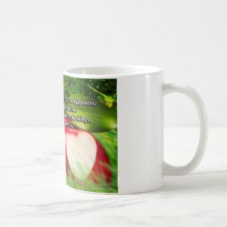 Apple inspirado asalta - la calidad alrededor de taza básica blanca