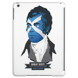 Apple iPad Air. Robert Burns, a Great Scot! Case For iPad Air