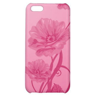 Apple iPhone 4 Pretty Pink Flowers Speck Case iPhone 5C Cover