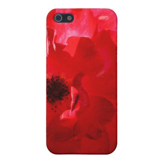 Apple iPhone 4 Red Rose Speck Case Cover For iPhone 5/5S