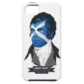 Apple iPhone 5/5S. Robert Burns, a Great Scot! iPhone SE/5/5s Case
