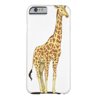 Apple iPhone 6 case with giraffe graphic