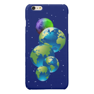 Apple iPhone 6 Earth Glossy iPhone 6 Plus Case