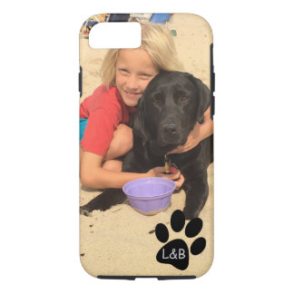 Apple iPhone 7, Tough Hoesje with own photograph iPhone 8/7 Case