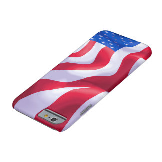 Apple iPhone  U.S.A Flag Barely There iPhone 6 Case