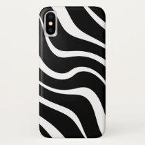 "Apple iPhone X case ""Kenya"" - Black and white"